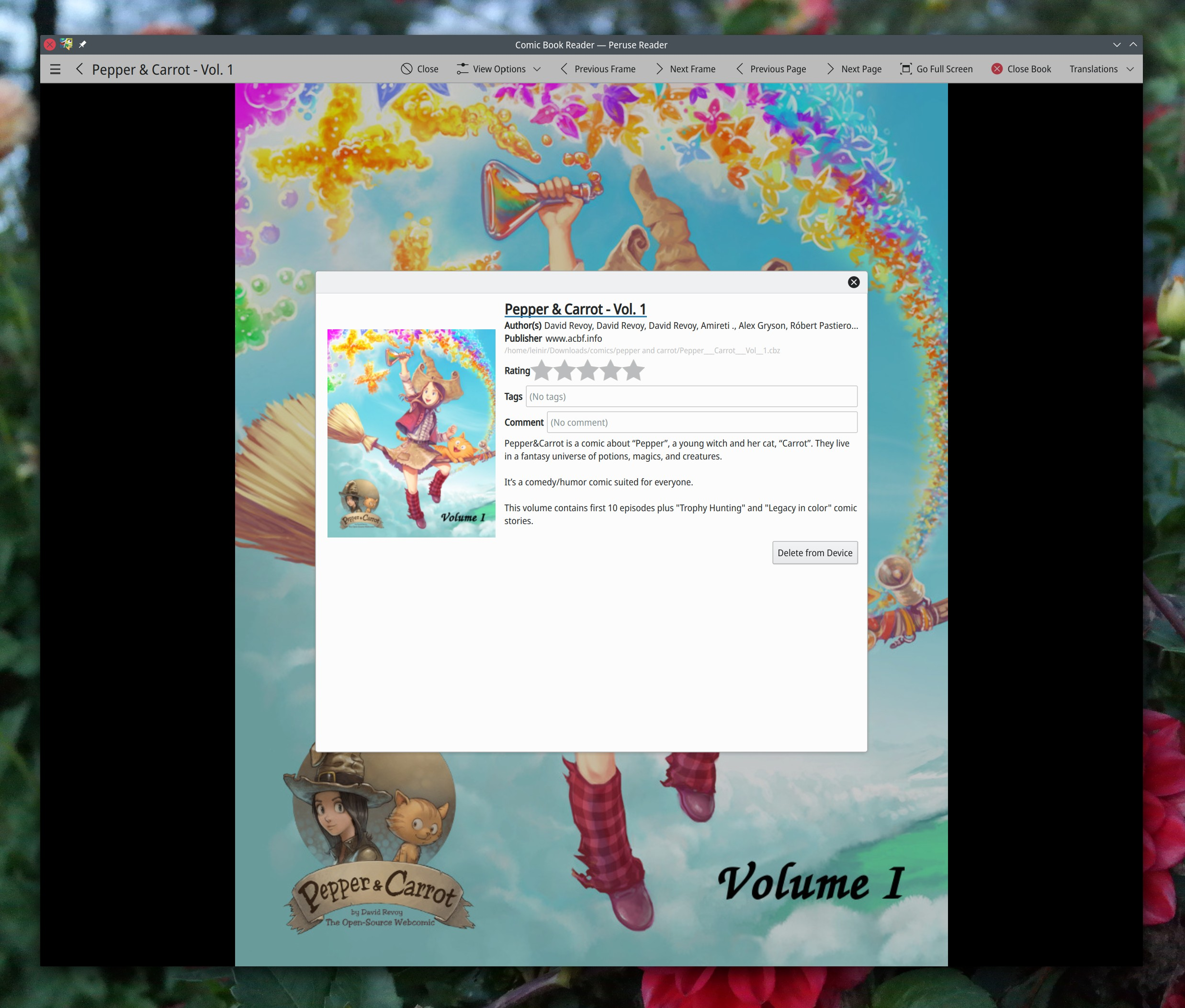 Marvelous Peruse Comic Book Reader By Kde Hairstyle Inspiration Daily Dogsangcom